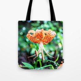 Tokyo Tiger Lily Tote Bag