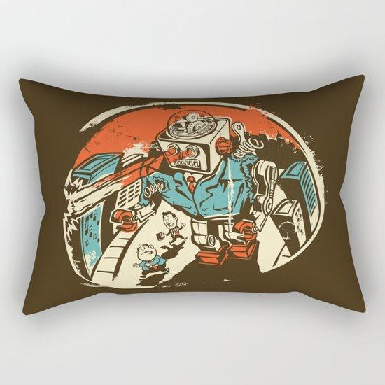 Mechanical Mayhem Rectangular Pillow