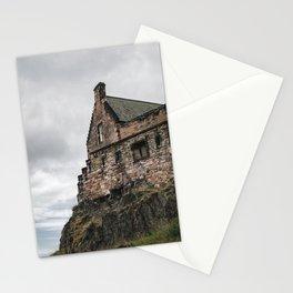 glimpse of edinburgh castle Stationery Cards