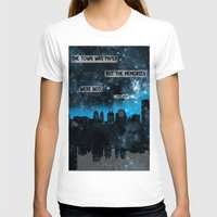 john green T-shirts featuring Paper Towns John Green Quote by denise