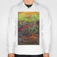 nietzsche Hoodies featuring and again and again nietzsche by hankhenry