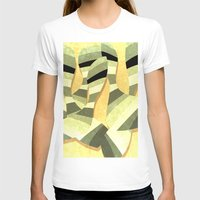 striped T-shirts featuring striped by Herb Vaine