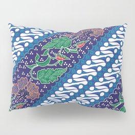 Indonesian batik art. Originated from Jacarta. Pillow Sham