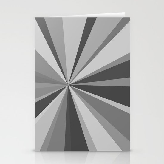 Monochrome Starburst Stationery Cards