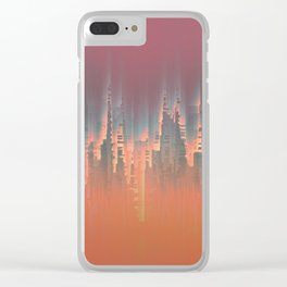Reversible Space II Clear iPhone Case