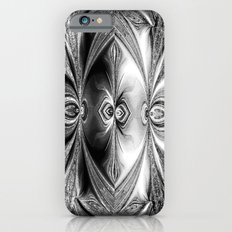 Abstract Peacock. Black+White. Slim Case iPhone 6s