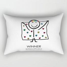 WINNER by ISHISHA PROJECT Rectangular Pillow