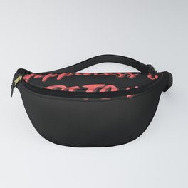 Happiness is Pitch Fanny Pack