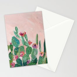 Prickly Pear Flower Stationery Cards