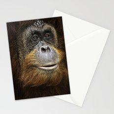 Orangutan Portrait Stationery Cards