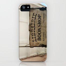 Librairie Bookshop iPhone Case