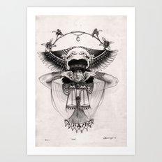L I B R A  Art Print