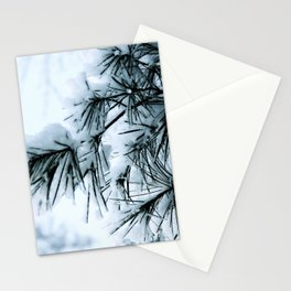 Snow Laden Pine - A Winter Image Stationery Cards