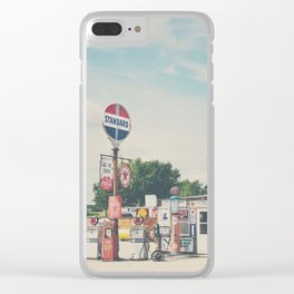 Bob's Gasoline Alley ... Clear iPhone Case