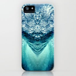 ocean vortex iPhone Case