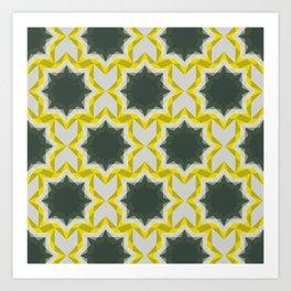 Weird Squares Art Print