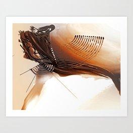 ABSTRACT ART BRITTO - QB271 Art Print