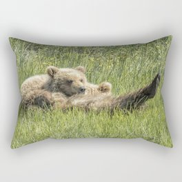 My Foot's So Pretty, Oh So Pretty - Bear Cubs, No. 2 Rectangular Pillow