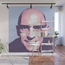 Michel Foucault Wall Mural