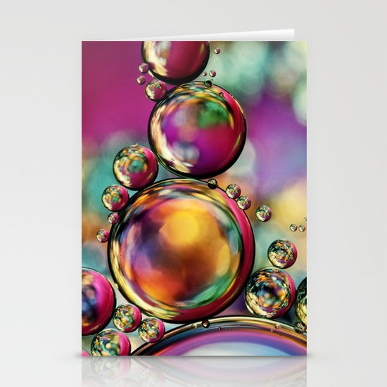 Explosion of Colour Stationery Cards