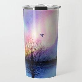 Aurora Boreal Travel Mug