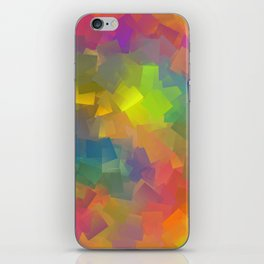 Abstract cubism -2- iPhone Skin