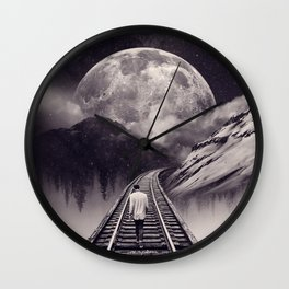 Whimsical Journey Wall Clock