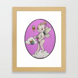 Winged kewpie Framed Art Print