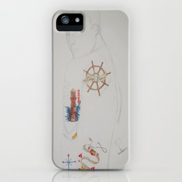 Tattoo Guy No.1 - Collaboration iPhone Case