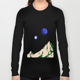 Twin Moons World Long Sleeve T-shirt