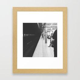 Canal Street Subway Framed Art Print