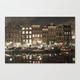 Amsterdam - Prinsengracht Canvas Print