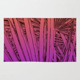 palm tree passion Rug