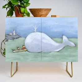 catching up Credenza