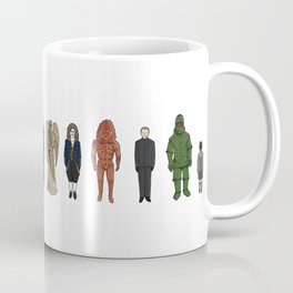 Dr Who Aliens Coffee Mug