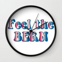 Feel the Bern Wall Clock