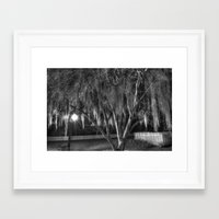 spanish Framed Art Prints featuring Spanish Moss by Kent Moody