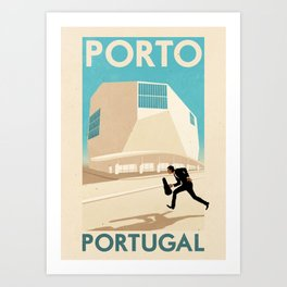 Portugal - Porto Art Print