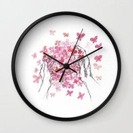 Butterfly Ball Wall Clock
