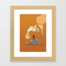 "Free ""Willy"" Framed Art Print"