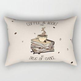 Coffee And Books Rectangular Pillow