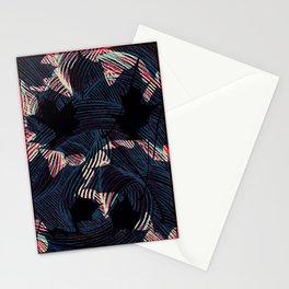 Leaf Pattern I Stationery Cards