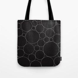 Circular Collage - Black & White I Tote Bag