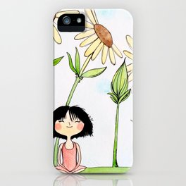 Among the Flowers iPhone Case