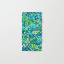 Dragonfly Abstract Hand & Bath Towel