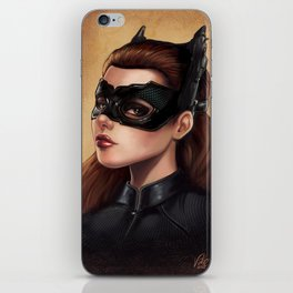 Cute Catwoman Painting  iPhone Skin
