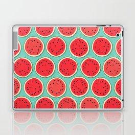 watermelon polka mint Laptop & iPad Skin
