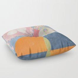 The Ten Biggest No 2 By Hilma Af Klint Floor Pillow