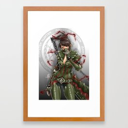 Unstable Hunter Framed Art Print