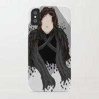 jon snow iPhone & iPod Cases featuring Jon Snow by itsamoose